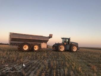 Chaser bin & tractor wm